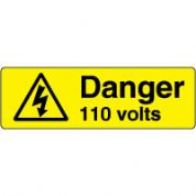Warn086 - Danger 110 Volts 2